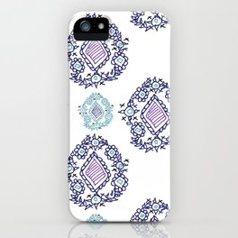 doodle ikat iPhone Case