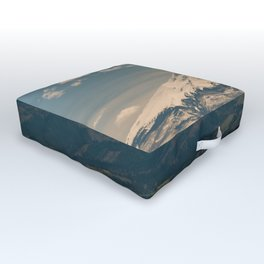 Mountain Valley Pacific Northwest - Nature Photography Outdoor Floor Cushion
