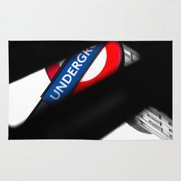 London Underground Rug