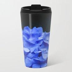 Hydrangeas Metal Travel Mug