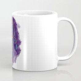 Dreamcatcher Turquoise: Purple background Coffee Mug