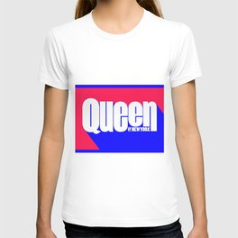 Queen of New York (Blue & Red) T-shirt