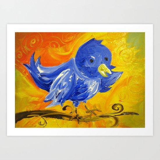 Tweet Tweet Art Print