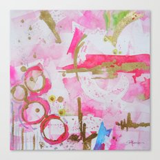 Pink Glam Canvas Print
