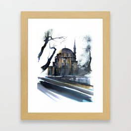 Zeynep Sultan Mosque Istanbul Framed Art Print