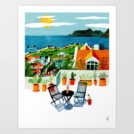 St James Art Print