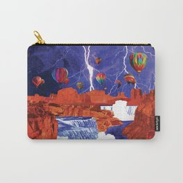 Thunderstorms Over Red Canyon Carry-All Pouch