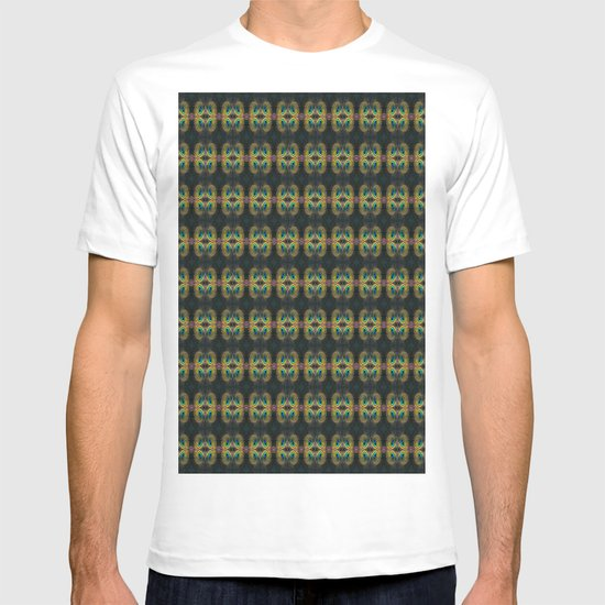 Peacock Bead Abstract T-shirt