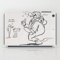 drunk iPad Cases featuring Always Drunk by MissCrocodile63