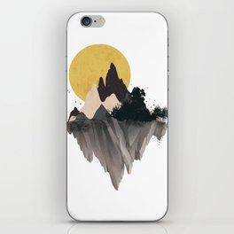 Moon Mountain iPhone Skin