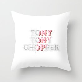 Tony Tony Chopper Throw Pillow