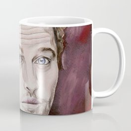 Misha Collins, acrylic painting Coffee Mug