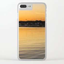 Chincoteague Bay at Sunset Clear iPhone Case