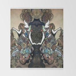 Jeweled Mermaid Throw Blanket