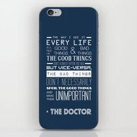 doctor who iPhone & iPod Skins featuring Doctor Who by Sarah Jane Rozman