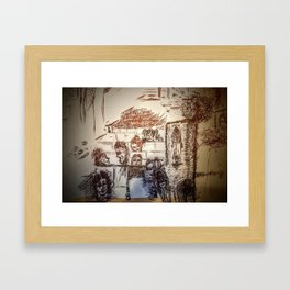 Cassie at the Theater Framed Art Print