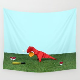 Yes T-Rex can! Wall Tapestry