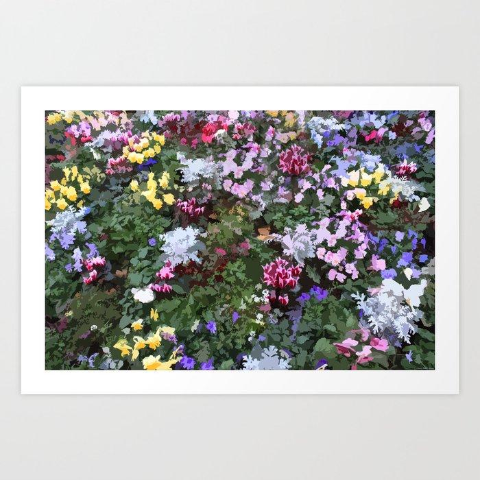 """""""Strange Flowers"""" Art Print"""