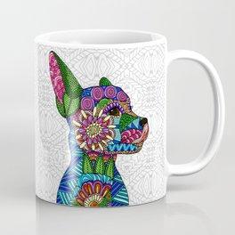 Folk Art Puppy Coffee Mug