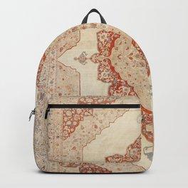 Haji Jalili Tabriz Persian Rug Print Backpack