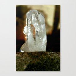 Quartz Crystal Canvas Print