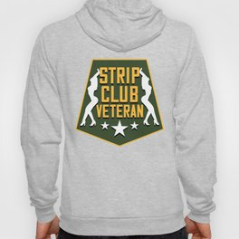 Strip Club Veteran Funny Patriotic Hoody