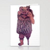 bruno mars Stationery Cards featuring Bruno by Arthur d'Araujo