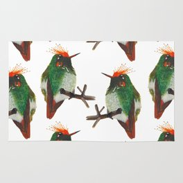 Rufous-crested Coquette Rug