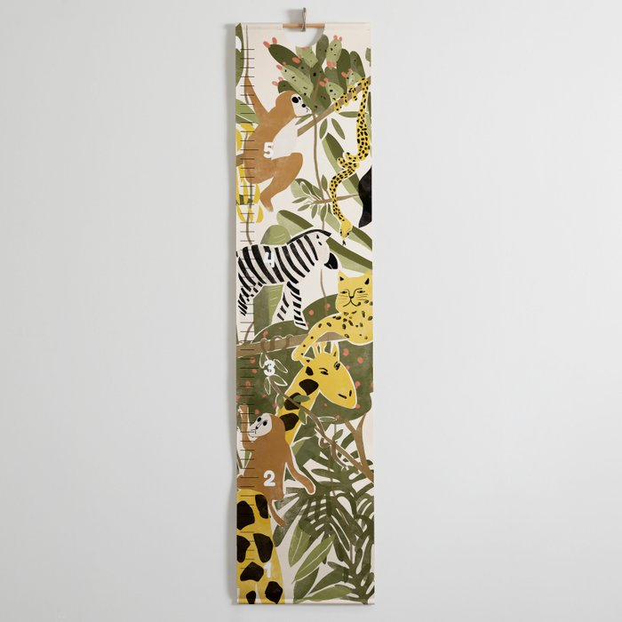 The Jungle Life Growth Chart