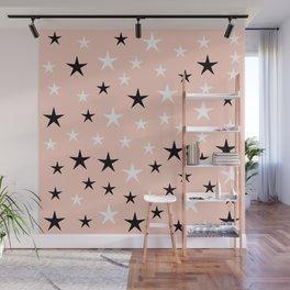 Cute Stars Wall Mural