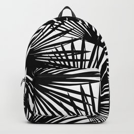 Tropical Fan Palm Leaves #2 #tropical #decor #art #society6 Backpack
