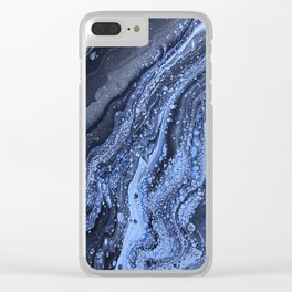 """""""Deep Sea Constellations"""" Clear iPhone Case"""