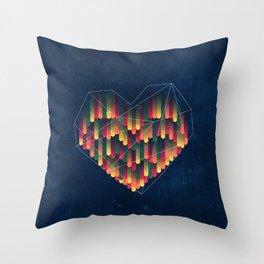 Interstellar Heart II Throw Pillow