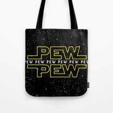 Pew Pew v2 Tote Bag