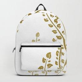 Golden Sea Weeds Backpack