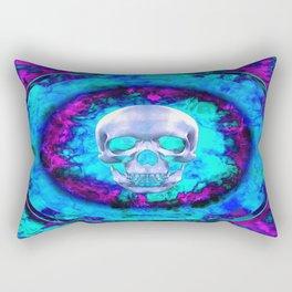 Circle On Fire Rectangular Pillow