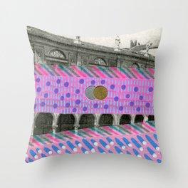 Saluti Dal Futuro 127 Throw Pillow