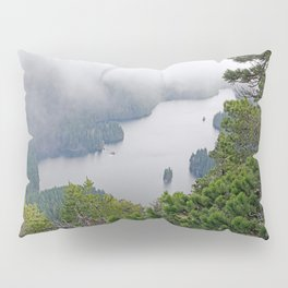 MOUNTAIN LAKE ON A MISTY DAY Pillow Sham