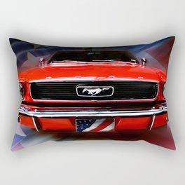 American Sally  Rectangular Pillow