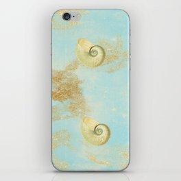 By The Seashore iPhone Skin