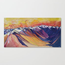 Little Ring Mountain :: Great Big Story Canvas Print