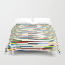 Abstract Flag Duvet Cover