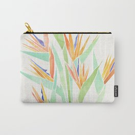 Birds of Paradise ~ tropical bouquet Carry-All Pouch