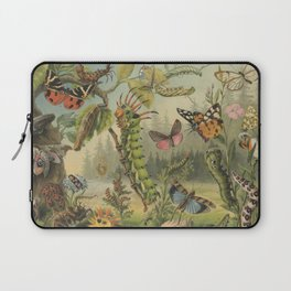 Insects Antique Lithograph- Schutzeinrichtung Laptop Sleeve