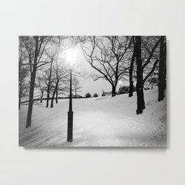 Nocturne Photograph - Prague, 3. Metal Print