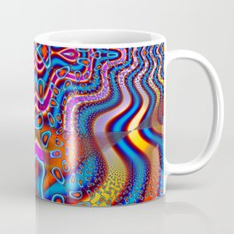Space Cadet Psychedelic Fractal Coffee Mug