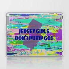 Jersey Girls Don't Laptop & iPad Skin