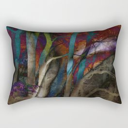 Funky Woods - JUSTART © Rectangular Pillow