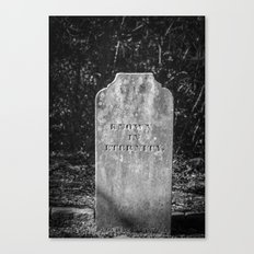 Known in eternity  Canvas Print