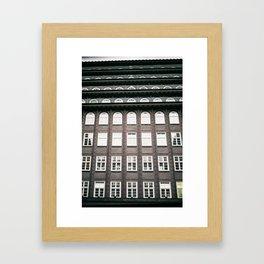 chile house Framed Art Print